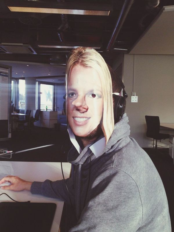 New Colleague : Britney Spears I Love My Job!