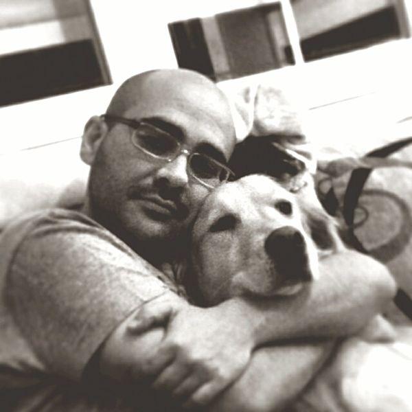 Abrazo de oso, que bien sienta... My Dog I Love My Dog