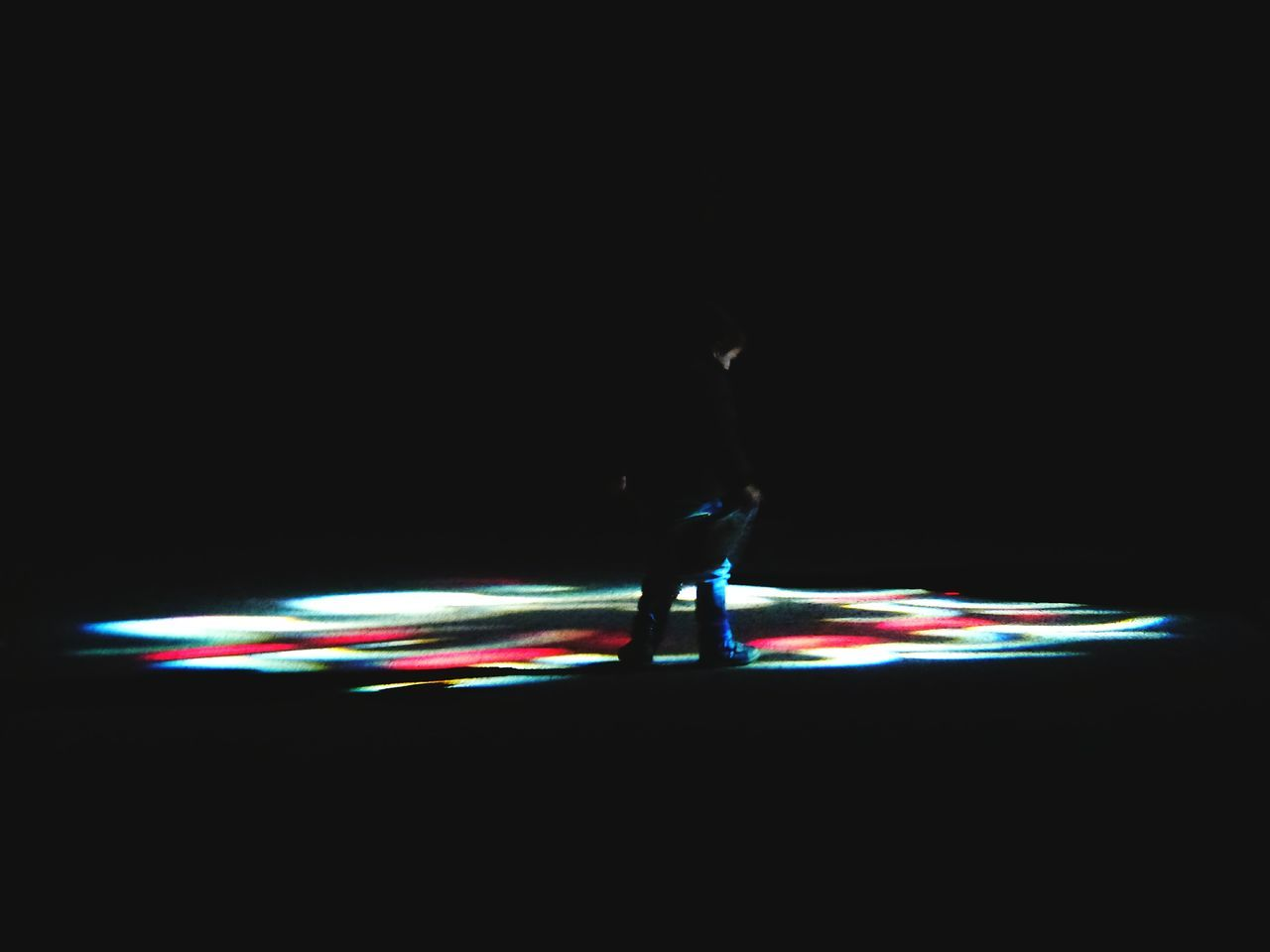 Lights Children Child Lights Fascinating Interested Beautiful Illuminated Black Background Motion Night Outdoors Winter Futuristic Patterns Cool Technology People Scotland Toddler  Happy Cute Joy Boys Deep In Thought Thinking Kid