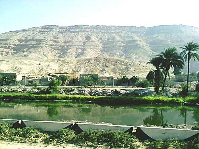N70 6yearsago Mohamed AbdulRaheem Nature Water Lake Landscape Outdoors Mountain Day Palm Tree Egypt Upper Egypt