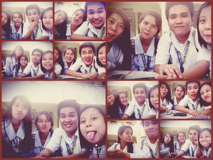 Wackymoment+ Crazyfriends =priceless!