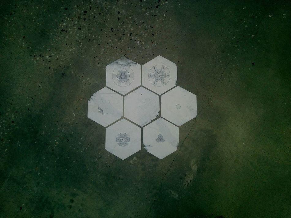 Abstract Concrete Floor