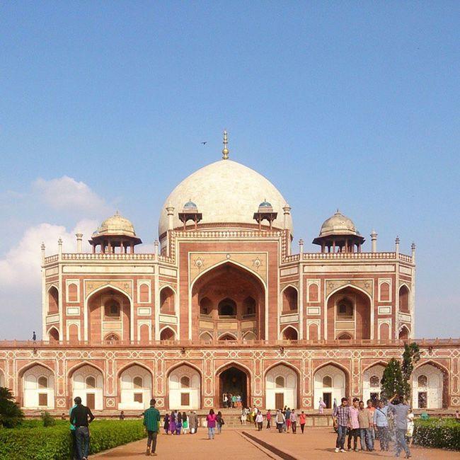 Humayuns Tomb Incredible India Nofilters Delhi Capital Sunnyday Ig_Delhi @delhiexplorer @delhi_shoutouts @instadelhi