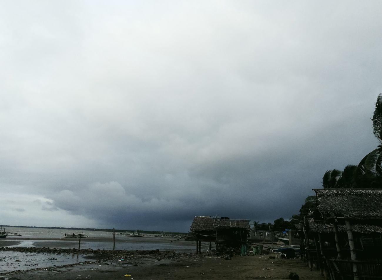 Weather Storm Cloud Sky Nature Rain Cloud - Sky Beach Beauty In Nature Beachtime Seashore Water
