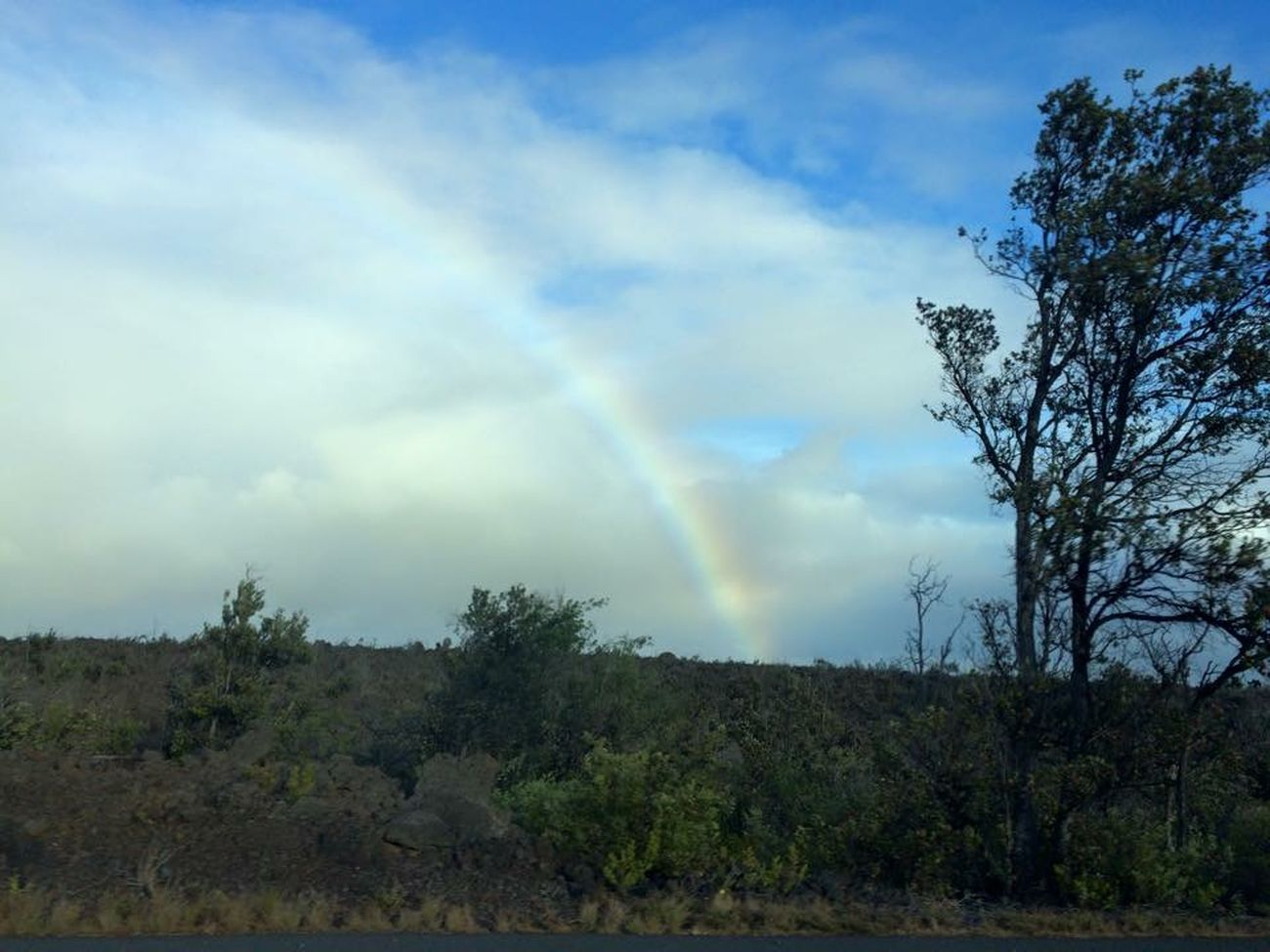 Rainbows Big Island Volcano National Park Beautiful Hawai'i  May 2015