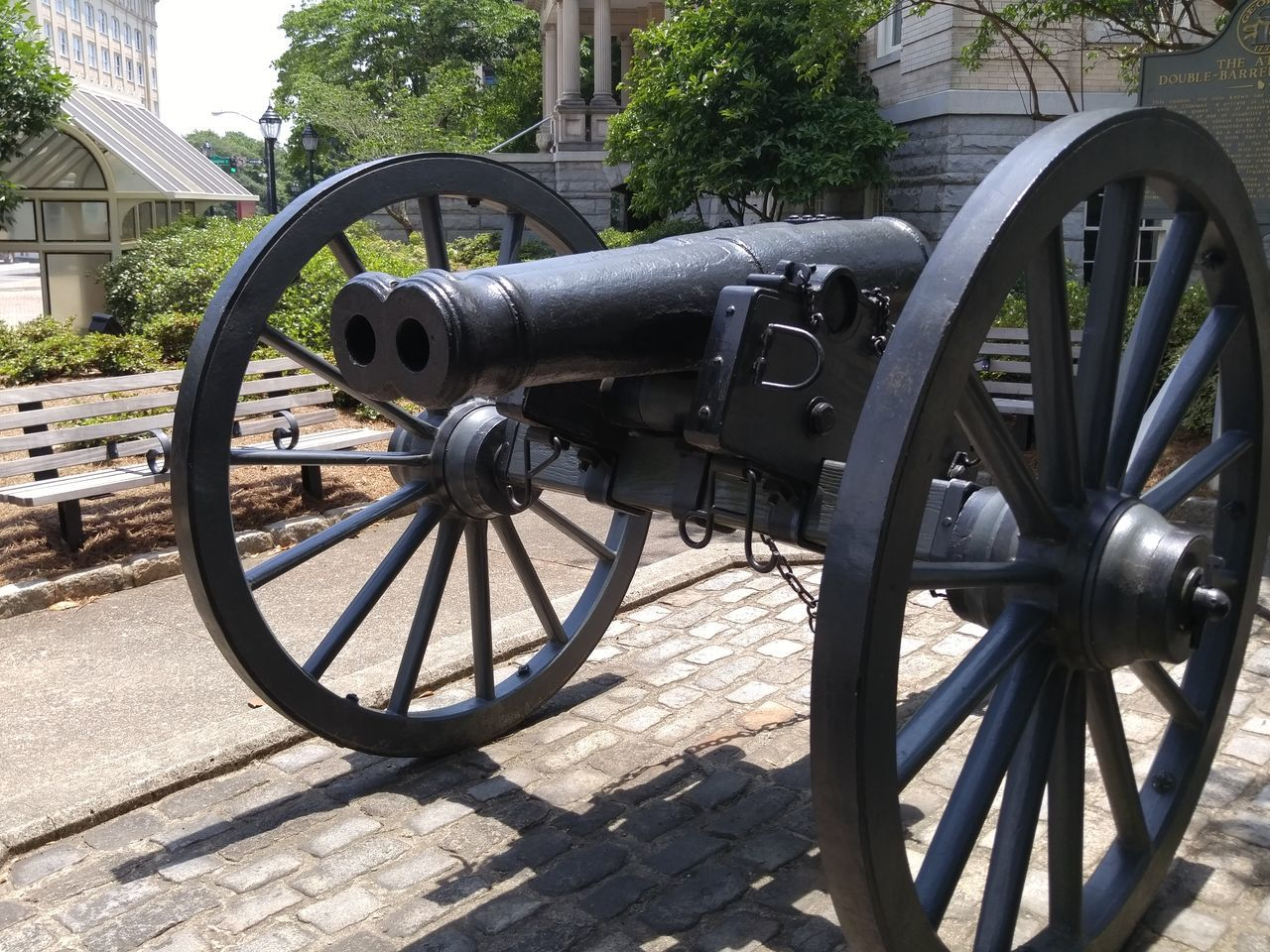 No People Outdoors Day Close-up Memorial Military Weapon Civil War History One Of A Kind  Canon