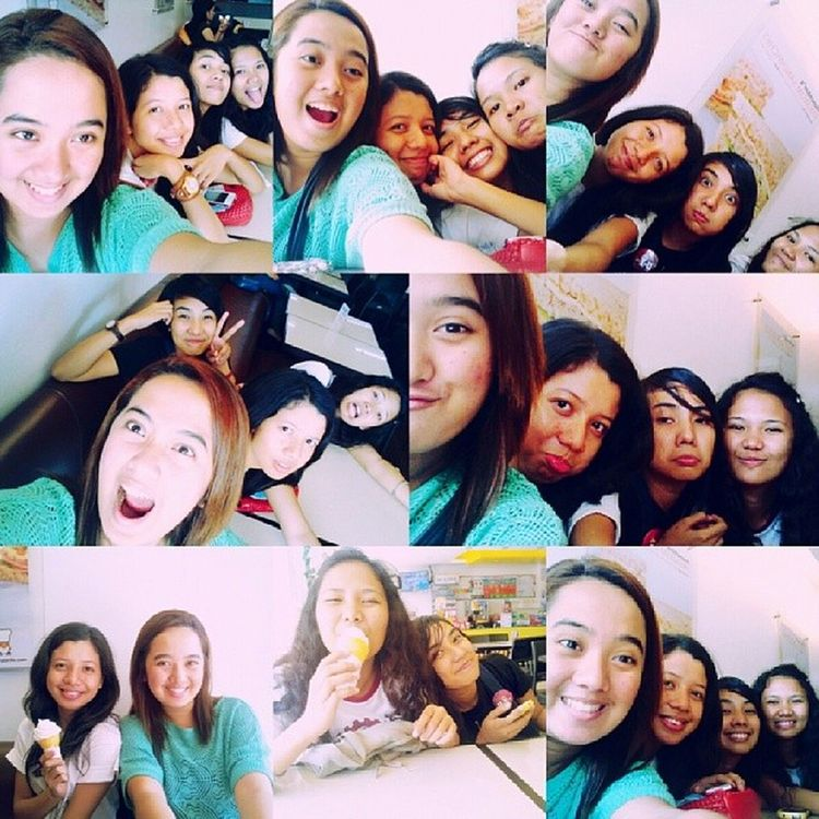 Im so inlove with my girlfriends ♥ i will never ever let them go ♥ hahahaha :) IMISSTHEMSOOMUCH Happy Breakfree Painfree pautwas chika gala chismosa