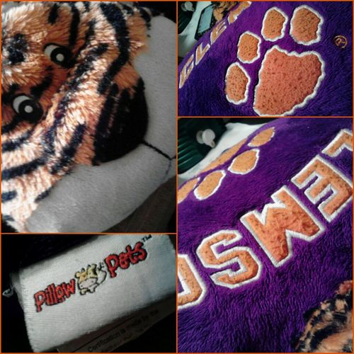 My Team Pillow Pet Clemson Tigers What's Yours?