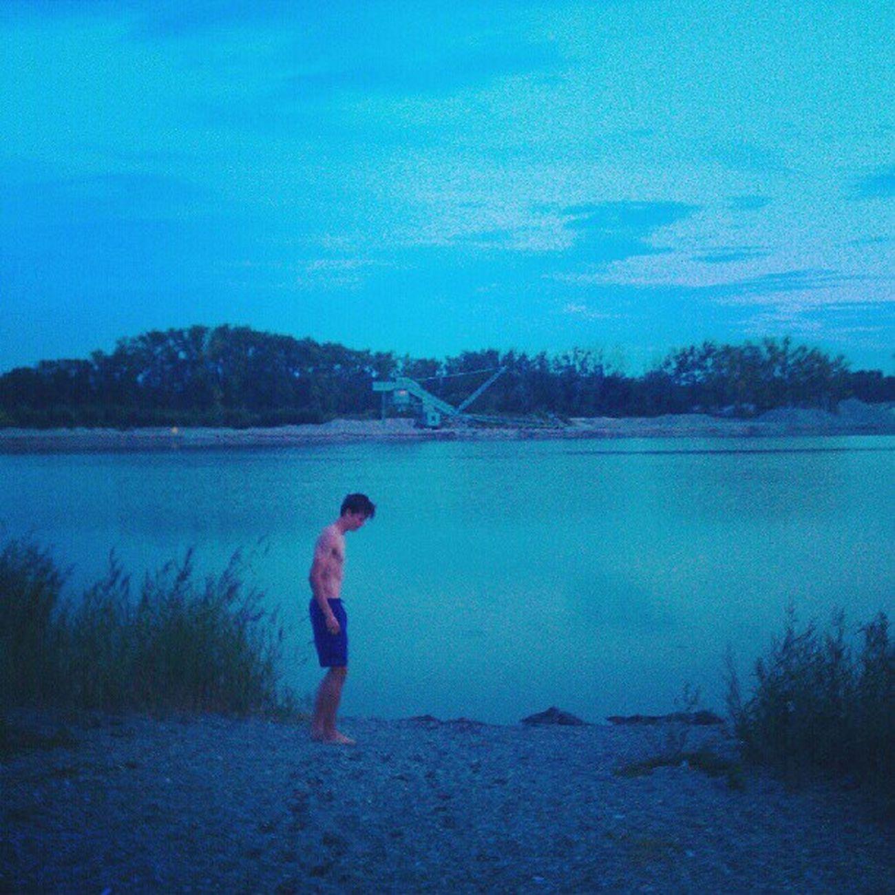 Bisschen See und so mit Brüderchen (: bluverse