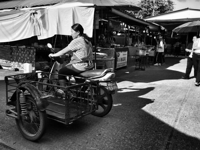 People Street Photography Iphone 6 Plus IPhoneography Iphoneonly Phuket Town Blackandwhite Black And White Monochrome