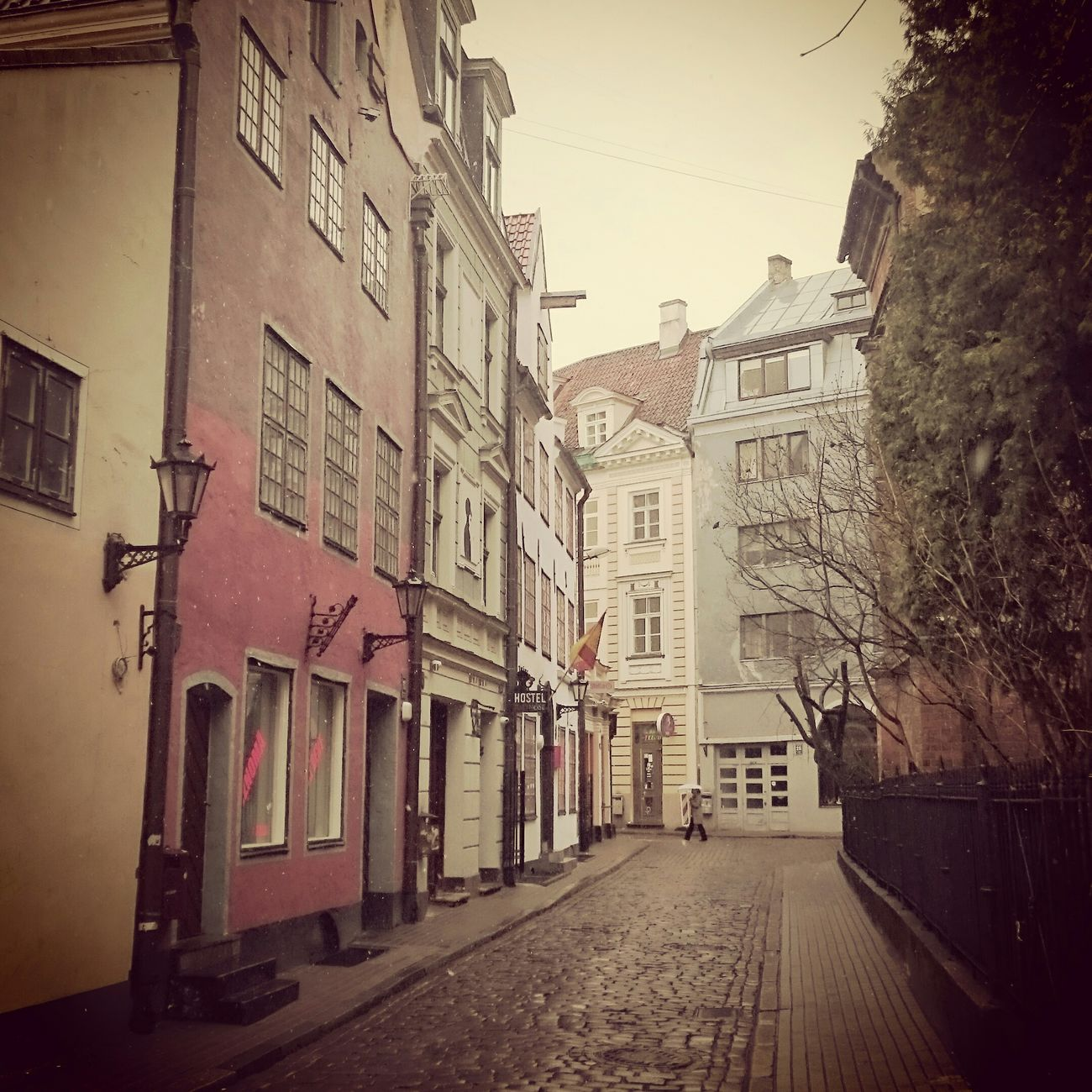 Latvia Riga Architecture Oldtown