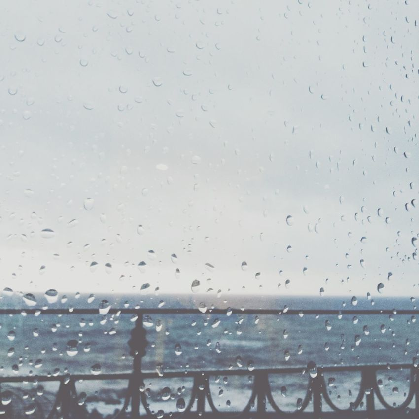 today a lot of rain Madeira Pontadosol Rain Honeymoon