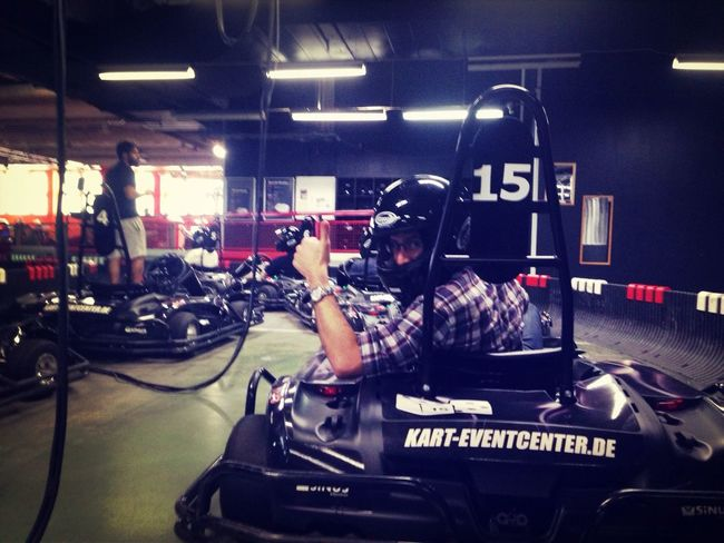 relayr team go cart racing! 21.7 is the time to beat!@relayr_cloud