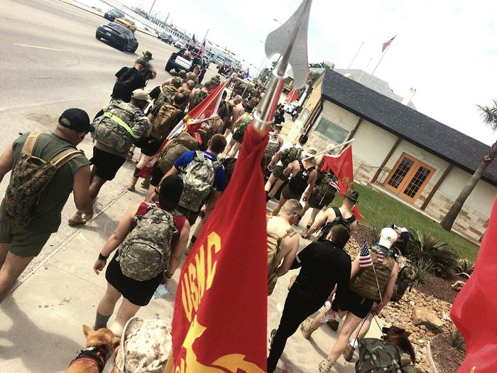 Silkies Veteran Suicideawareness Marines Army Navy Hike Veterans To Remember Texas First Eyeem Photo