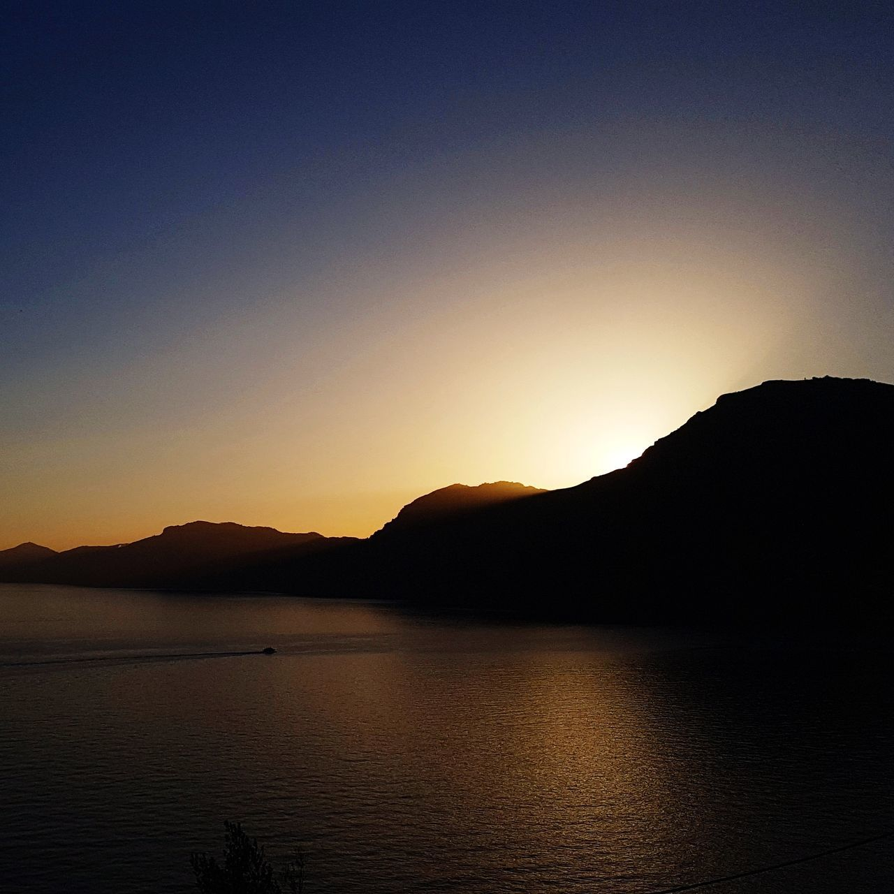 Mountain Sunset No People Beauty In Nature Silhouette Nature Landscape Tranquility Scenics Outdoors Clear Sky Sky Night Positano, Italy Positano