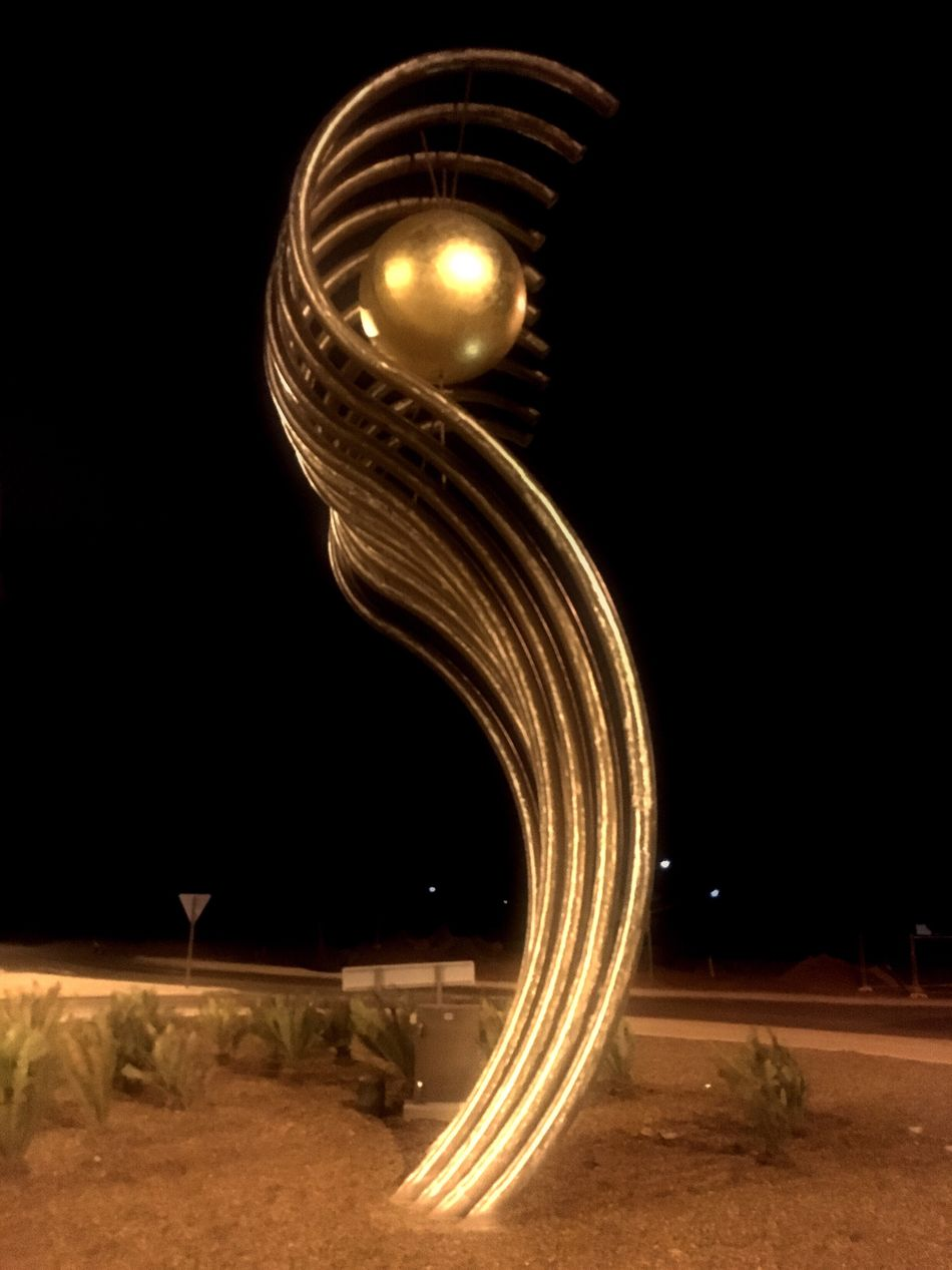 Art Installation Here Belongs To Me Art ArtWork Karratha Western Australia WesternAustralia Street Art Sculpture