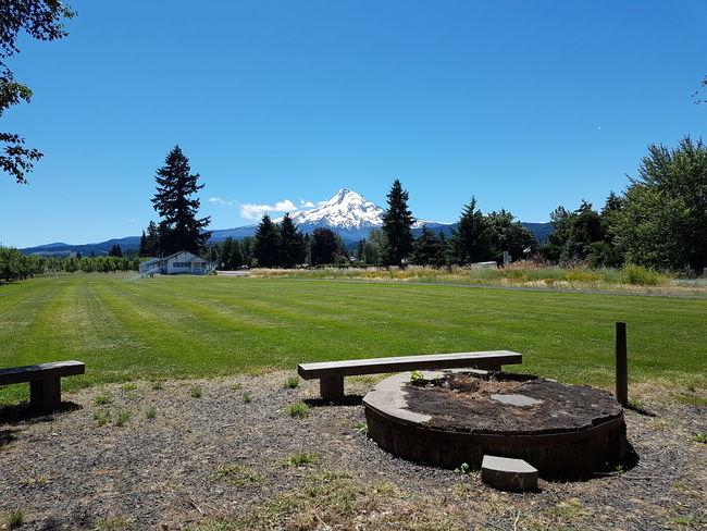 Mt Hood Oregon Parkdale