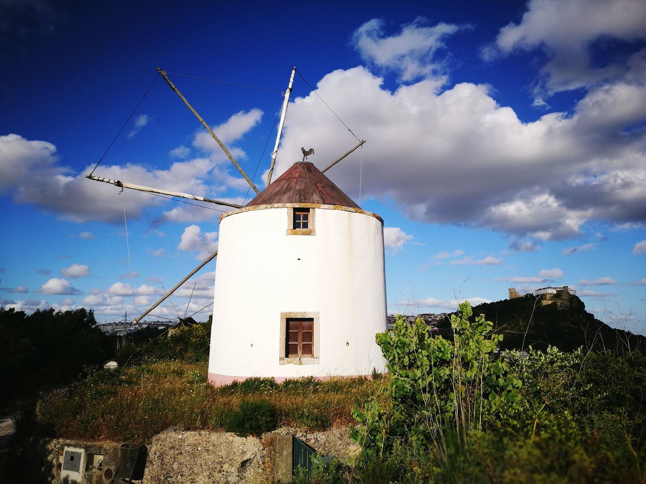 Windmill Wind Power Traditional Windmill Alternative Energy Architecture Sky Built Structure Wind Outdoors Cloud - Sky Day No People Nature Rural Scene