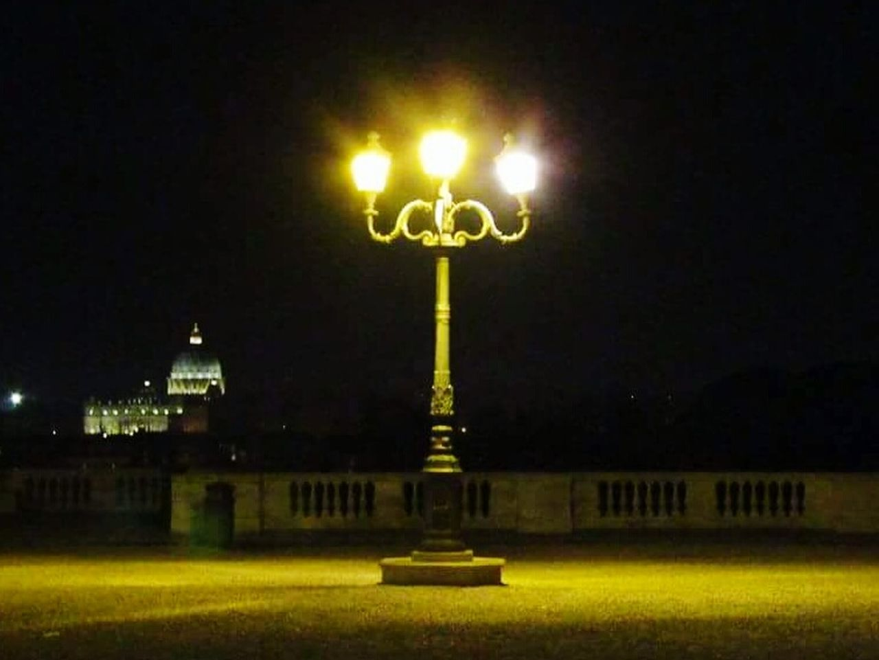Night Illuminated No People Pincioterrace San Pietro View Outdoors Rome, Italy Rome By Night