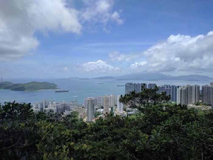 Landscape Cityscape EyeEm World Club Photo 🌎📷 World Holiday Blue Sky EyeEm HongKong Worldwide_shot City Hiking Cloud - Sky Sky Outdoors Sea