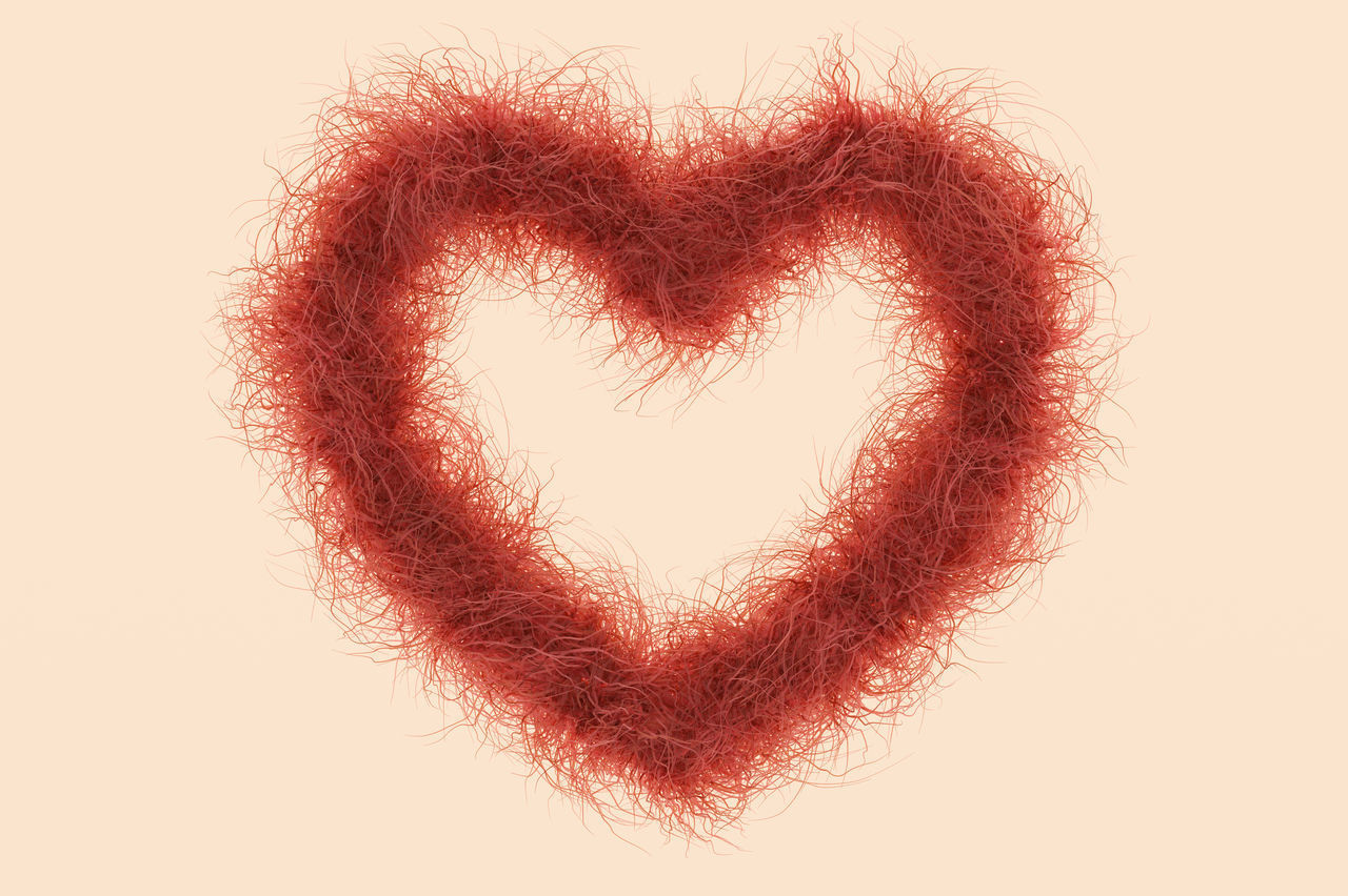 Beauty Beauty In Nature Concept Conceptual Depilation Females Fur Hair Heart Heart Shape Heart ❤ Love Red Hair Redhead Self Assured Shave Skin Skin Tone Valentine's Day - Holiday Woman Zone