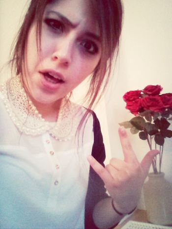 roses are red, violets are blue, I don't really care so... what are you going to do? Self Portrait Funny Reality