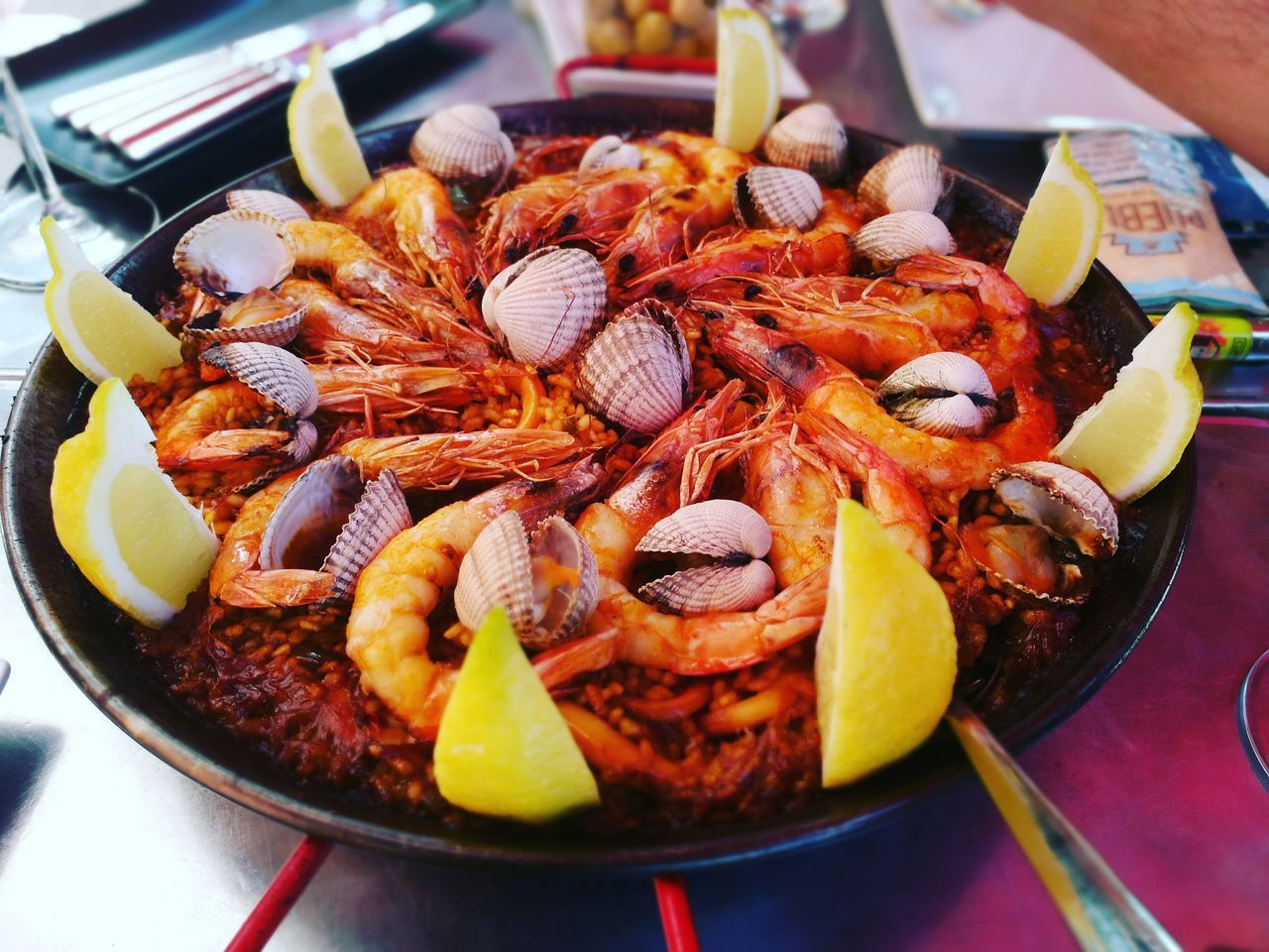 Paella Marisco Seafood Streetfood Pornfood Delicious HuaweiP9