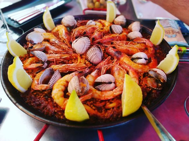 Paella Marisco Seafood Streetfood Pornfood Delicious HuaweiP9