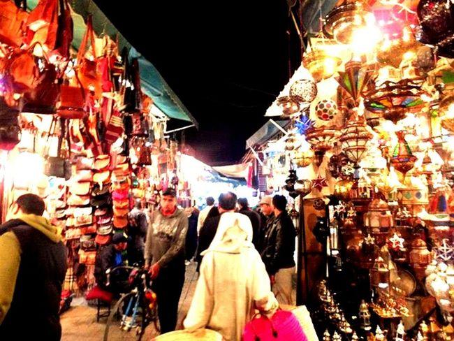 Taking Photos Enjoying Life Night View Hello World Colorful Morocco マラケシュ Morocco ランプ