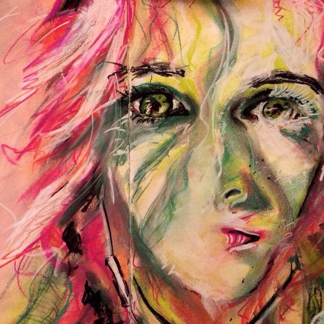 Arianna.PaintingnSktchyhy Portrait