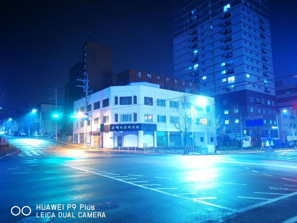 Night City No People Neon Long Exposure Leica Daily Life Insomniaphotography Street City Street Light City Street