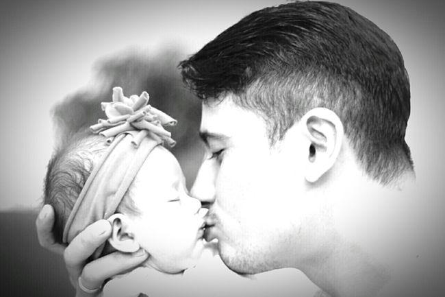 me and my Daughter . B&w . Love . Zooey Gabriella Crawfurd