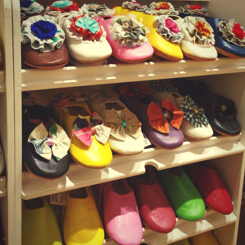 カラフルルームシューズ Colorful Life Roomshoes Handmade Cheers! なんちゃって♡