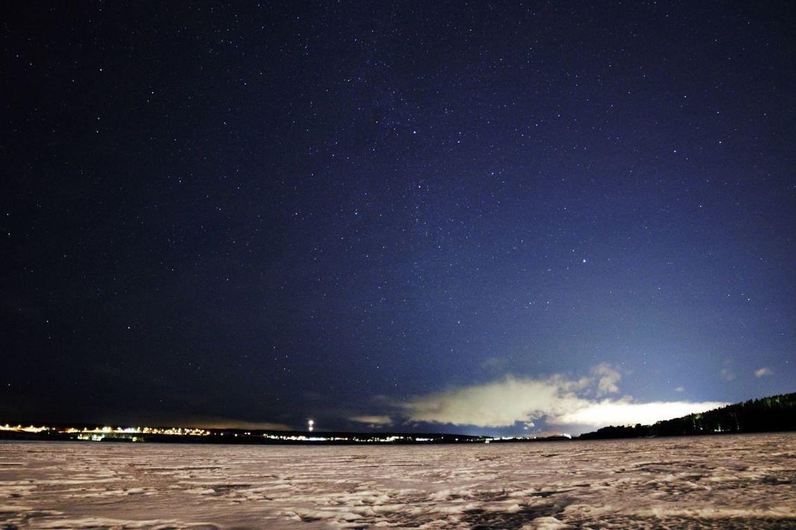 Night Star - Space Space Astronomy Milky Way Outdoors Galaxy Nature östersund Sweden Brunflo Nikon Nikond3300 Jamtland Astronomy Photography Snow Outdoor Nature Photo Ice Storsjön