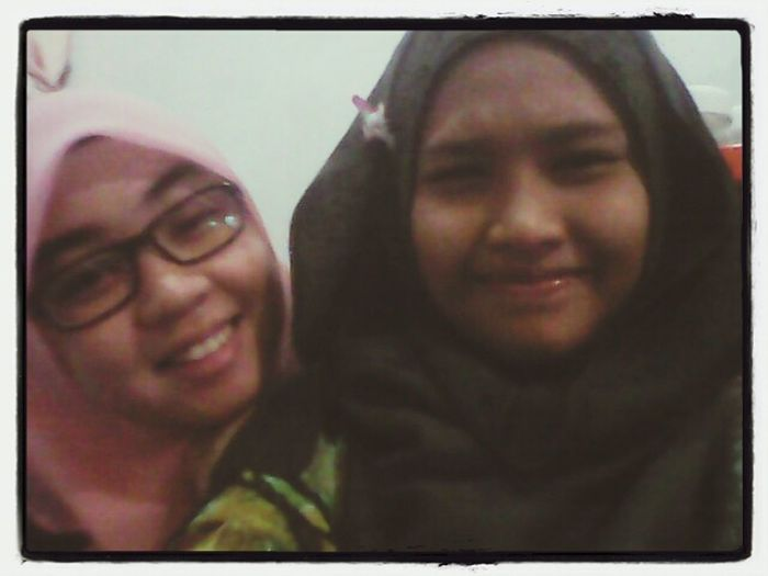 with my lovely sis ;)