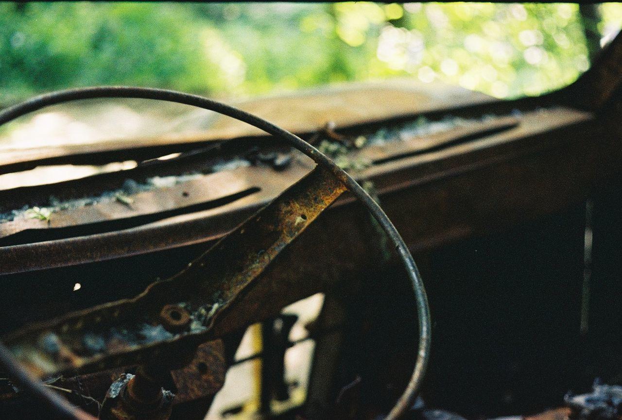 Filmphotography Film Yashicafx3super2000 Colors Car Corrosion Sunny Kiev Ukraine