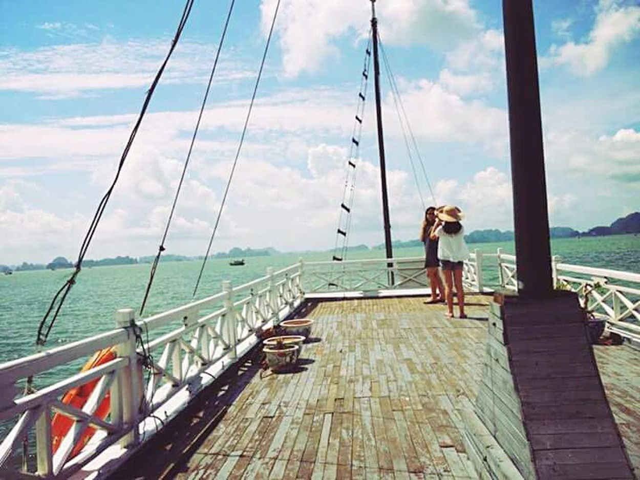 Summer2015 Summer Holiday On Board Boat Viewpoint Summertime Sunny Day Sisters ❤ Relaxing