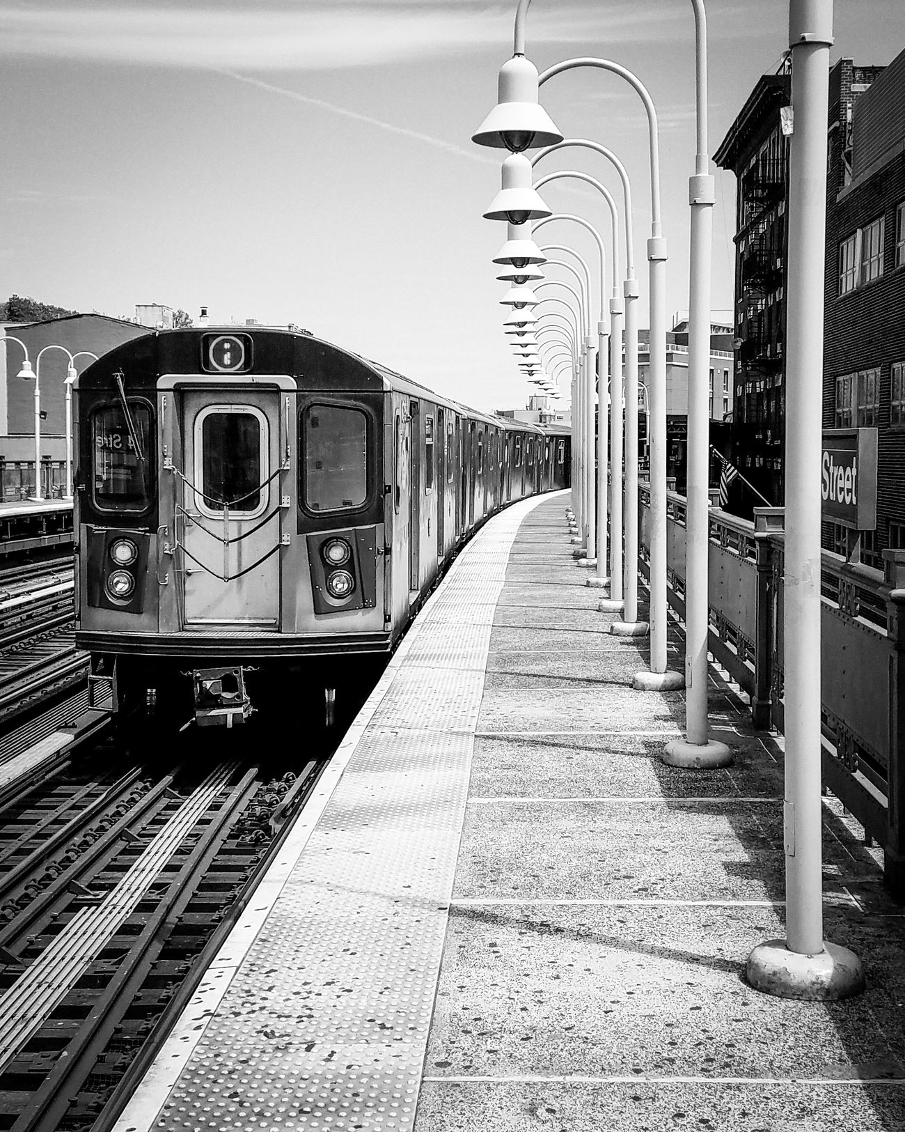 Bronx trains are the best! Rail Transportation Railroad Track Train - Vehicle Railroad Station Transportation Mode Of Transport Public Transportation Railroad Station Platform Subway Train Outdoors New York City Photography BronxNYC EyeEyem Bronx NYC Photography Urban Lifestyle EyeEmBestPics City Life Street Photo Streetphotography Spring 2017 Full Frame Shootermag_usa Mobile Photography NYC