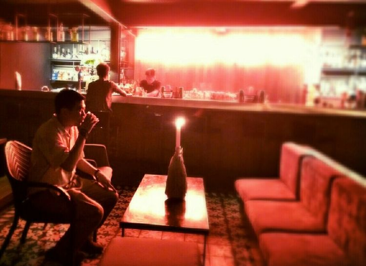 Jayibanezmd Alcohol Alcoholic  Drinking Alone Redlight Finderskeepers Speakeasy Eyeem Philippinestaken by my friend.