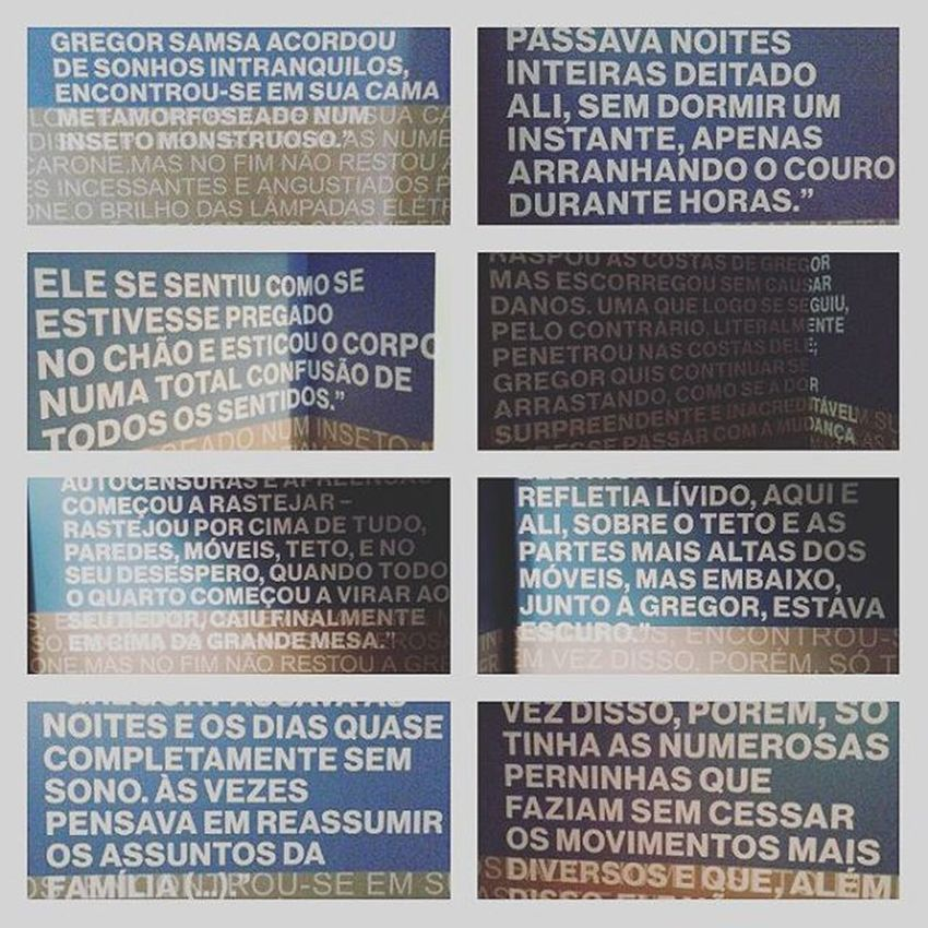 Metamorfose...Franz Kafka. Instagram Exposição Franzkafka  Metamorfose Casadasrosas Casadasrosas_avpaulista AvenidaPaulista Saopaulo SP Saooutrospaulos Paulista