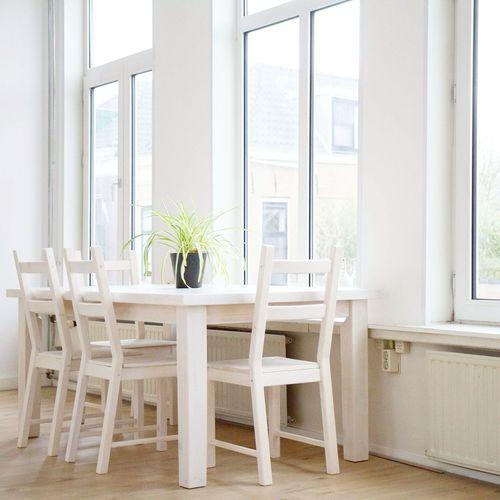 Interior Kitchen Table Table Wondow Light