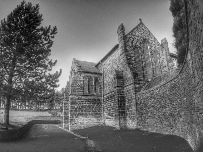 I think this convent was built in the 1800's, originally it was an orphanage. It was later donated to the Carmelite order by the Duchess of Devonshire. Architecture Historical Building IPhoneography Bw_collection