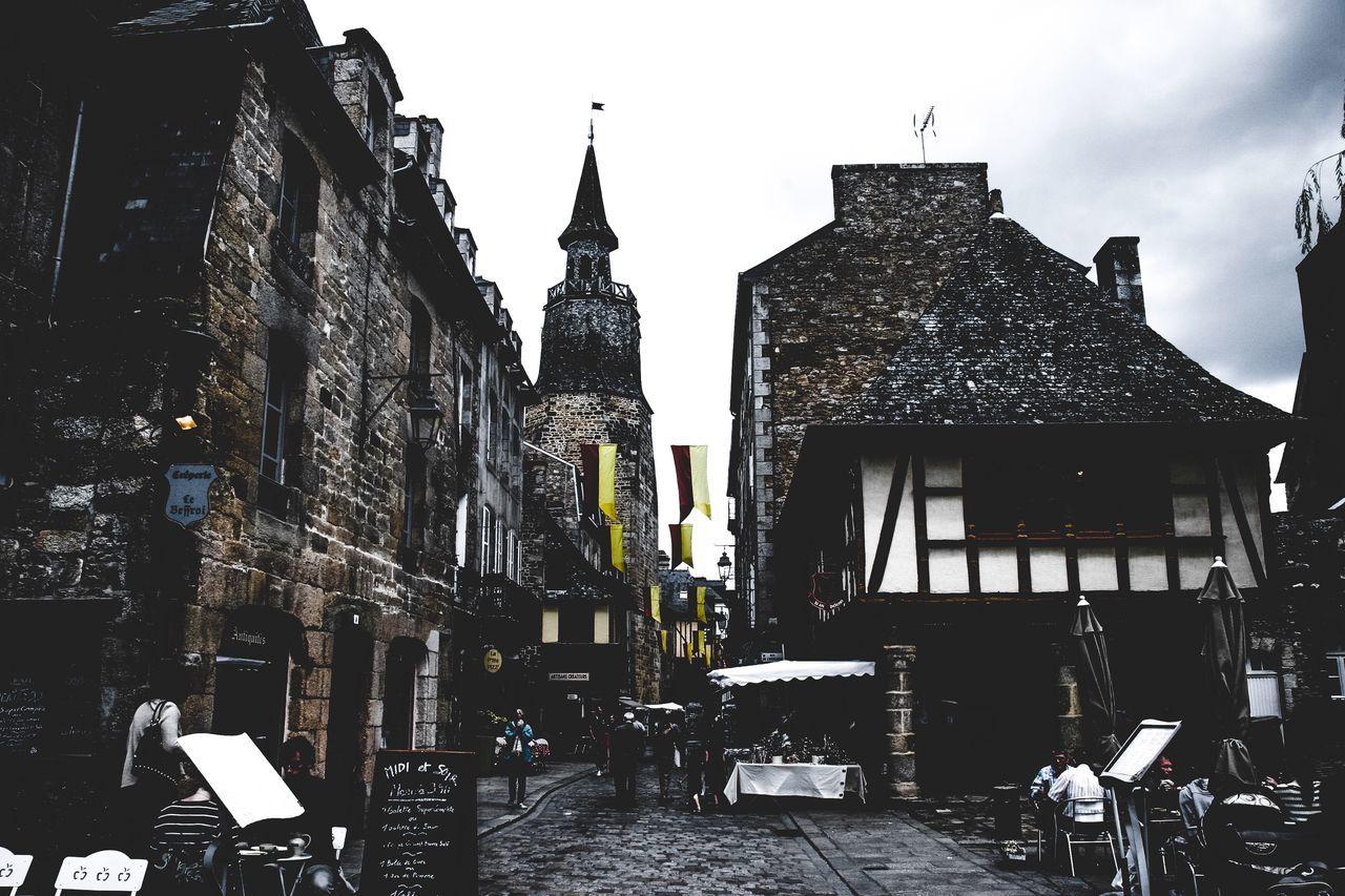 Architecture Built Structure Building Exterior Travel Destinations City Outdoors No People Sky Day Bretagne Bretagnetourisme France