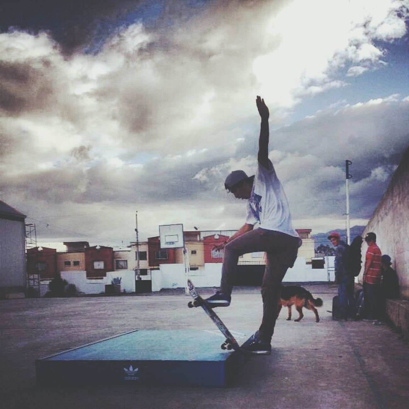 my frontblunt! Yeahskate Skateboarding Larocaskatechurch Frontblunt