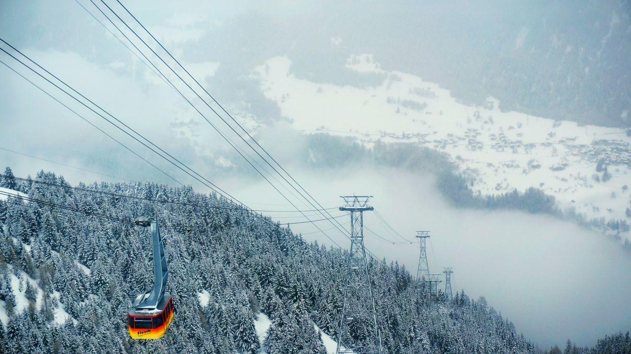 By A Thread Cable Car Fiesch Fiescheralp Switzerland