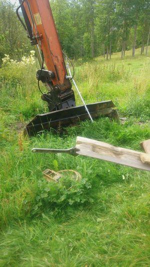 First Eyeem Photo Wrench  Crutch Excavator Grass Forest