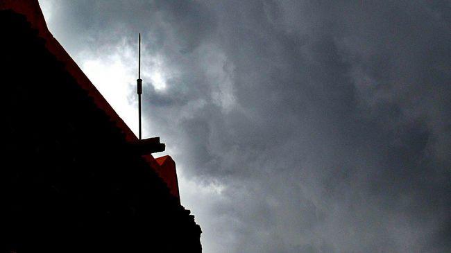 Orage Sky And Clouds Cumulonimbus Cloud Porn Rainy Days Rain Paratonnere Naima Eastern Morocco