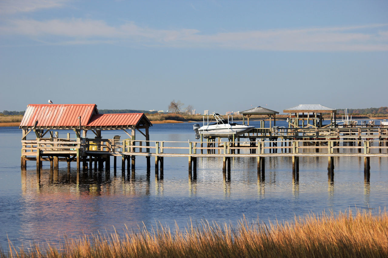 Architecture Beauty In Nature Boat Dock Built Structure Day Nature No People Outdoors Scenics Sea Sky Tranquility Water