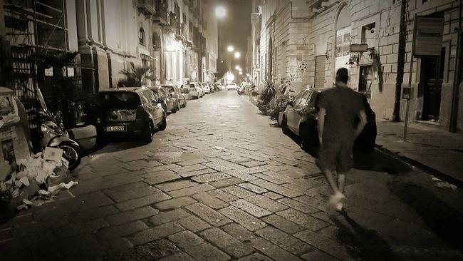 Naples, Italy Bynight City Night City Street The Places I've Been Today Eye4photography  Makingphotos Check This Out Napoliphotoproject