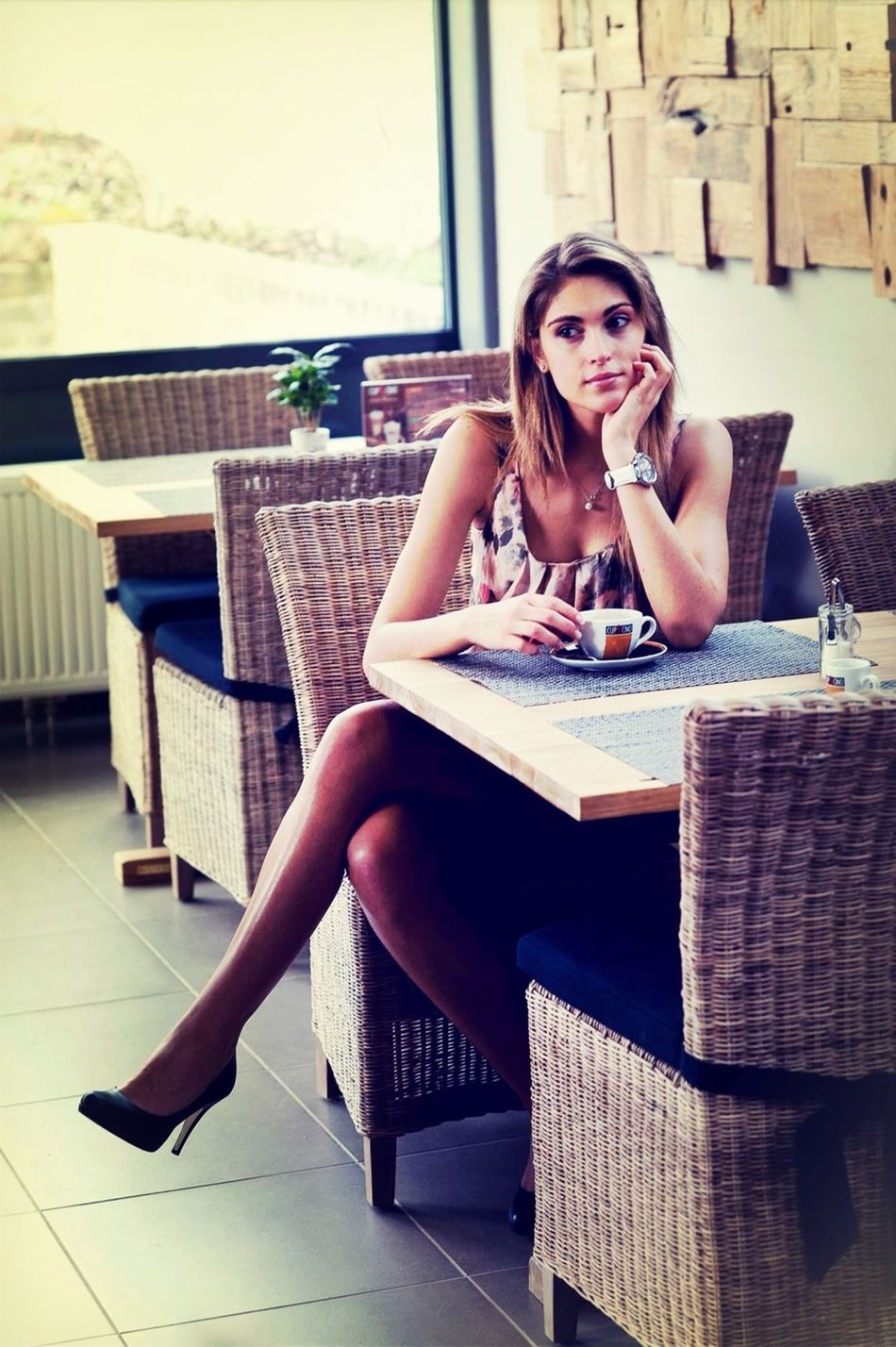 Girl Waiting